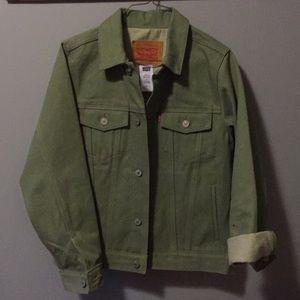 Levi's Jean Jacket (green)
